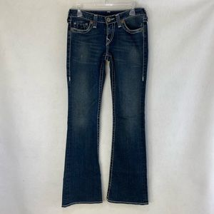 True Religion Bobby Big T low rise flare jeans